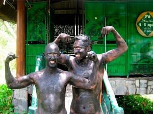 Binh Chau hot mineral springs and mud