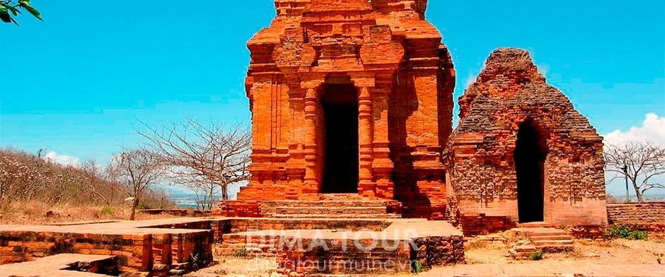 Cham towers near Mui Ne, Vietnam