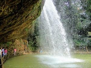 Da Lat waterfall. Vietnam