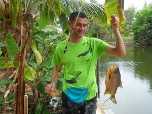 Fishing in Vietnam from Mui Ne