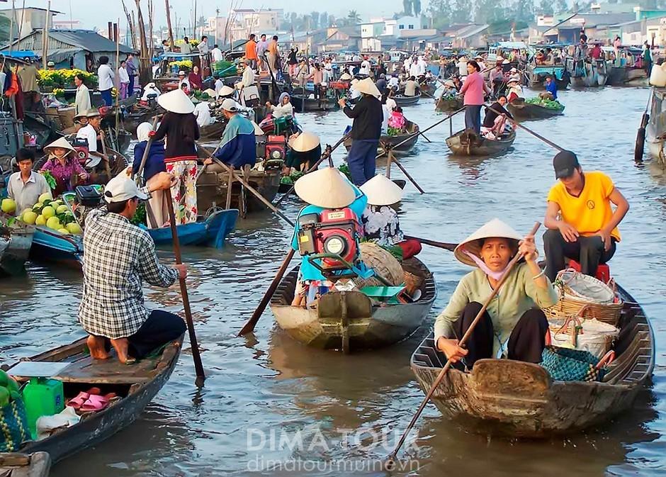 Mekong Delta tour, Saigon, Vietnam