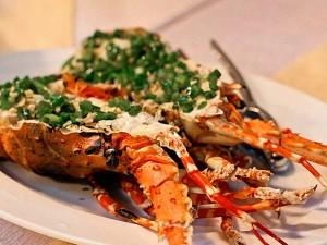 Mui Ne seafood, Vietnam