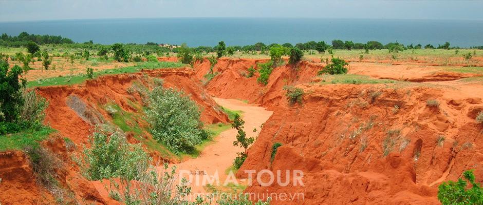 Red canyon near Mui Ne, Vietnam
