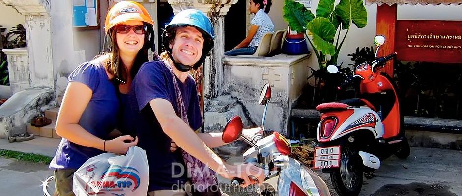 Rent motorbike in Mui Ne, Vietnam
