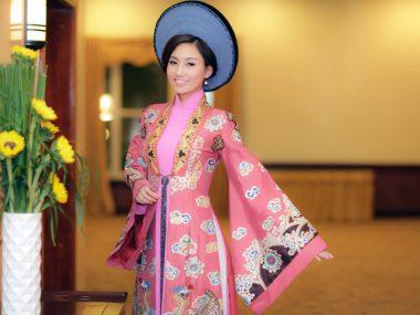 Ao dai, the national women's outfit of Vietnamese women