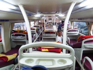 Intercity buses in Vietnam