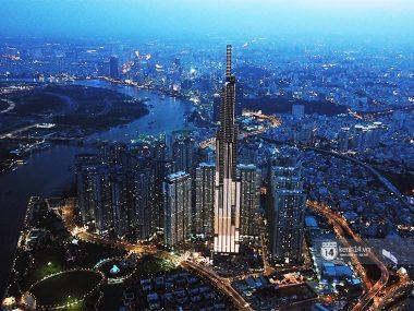 Landmark 81 skyscraper in Saigon