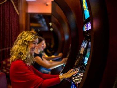 The slot machine hall in Muine GMC in Muine