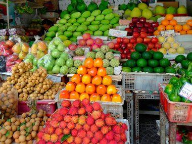 Tropical fruits of Vietnam