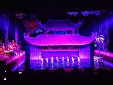 Water Puppet Theatre in Saigon